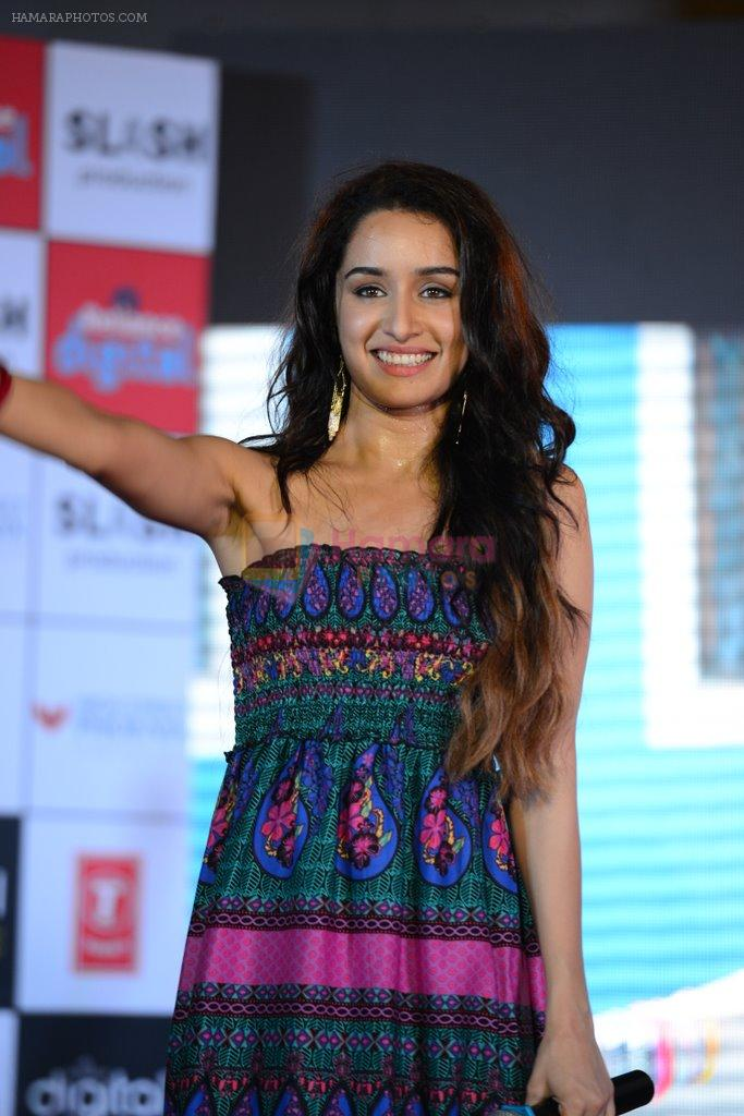 Shraddha Kapoor at Ek Villian music concert in Mumbai on 4th June 2014