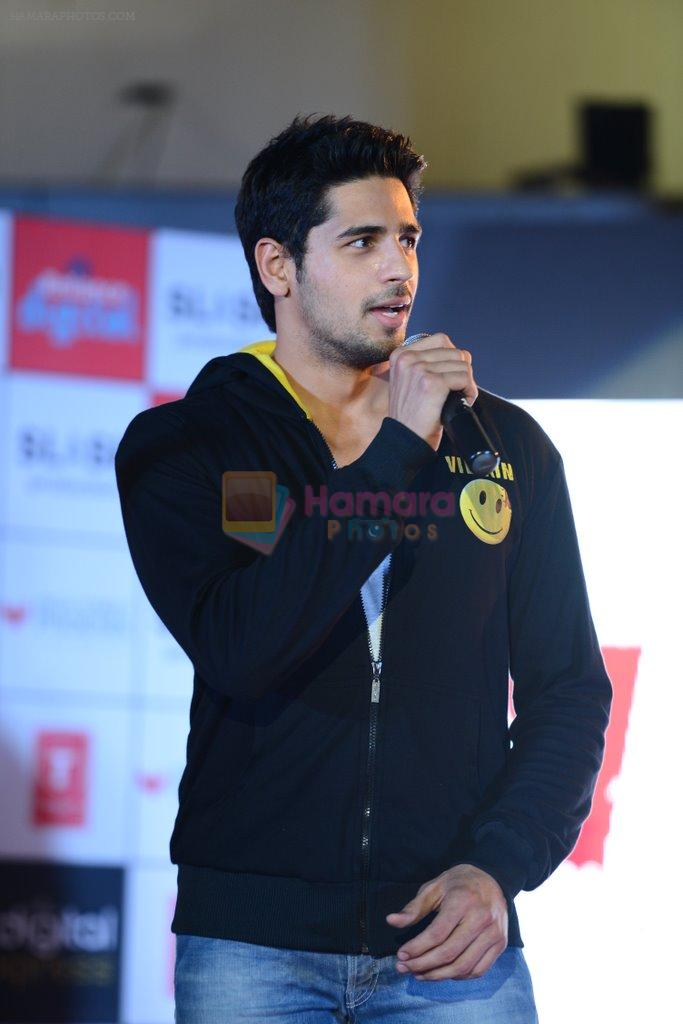 Sidharth Malhotra at Ek Villian music concert in Mumbai on 4th June 2014
