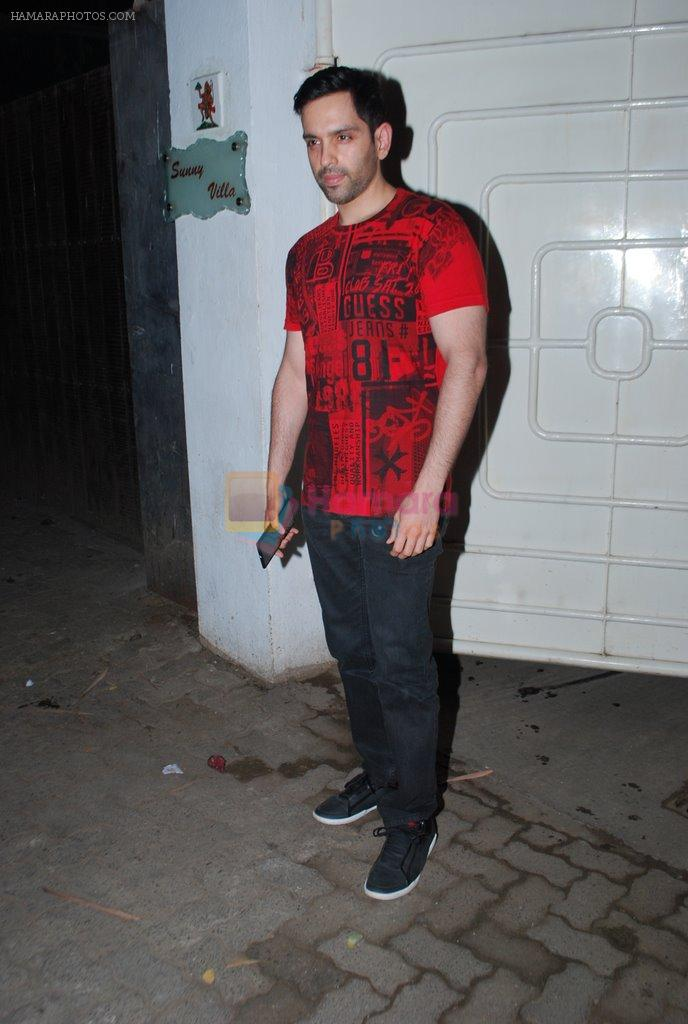 Luv Sinha at Holiday Screening in Mumbai on 4th June 2014
