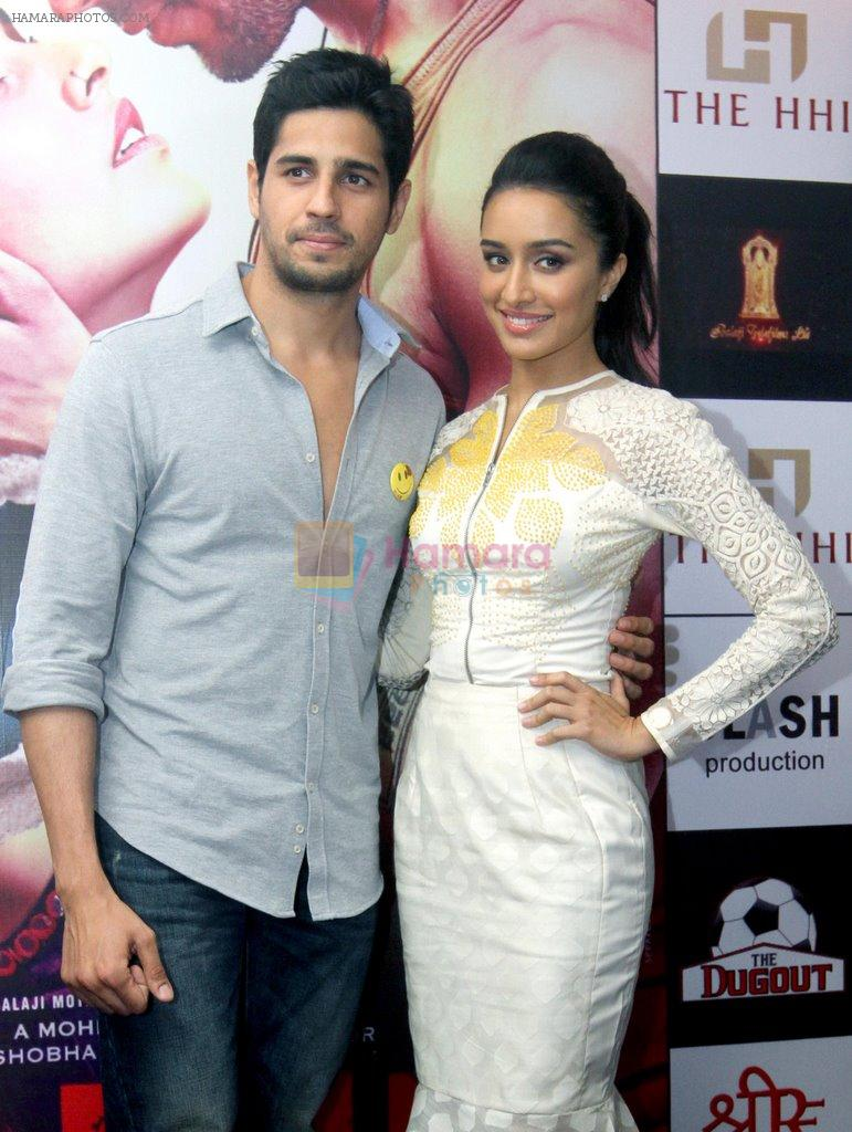 Hotel Hindustan International Shraddha Kapoor Sidharth Malhotra At The Promotion Of Film Ek