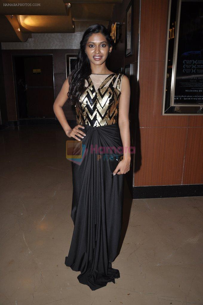 Anjali Patil at With You Without You premiere in PVR, Mumbai on 19th June 2014