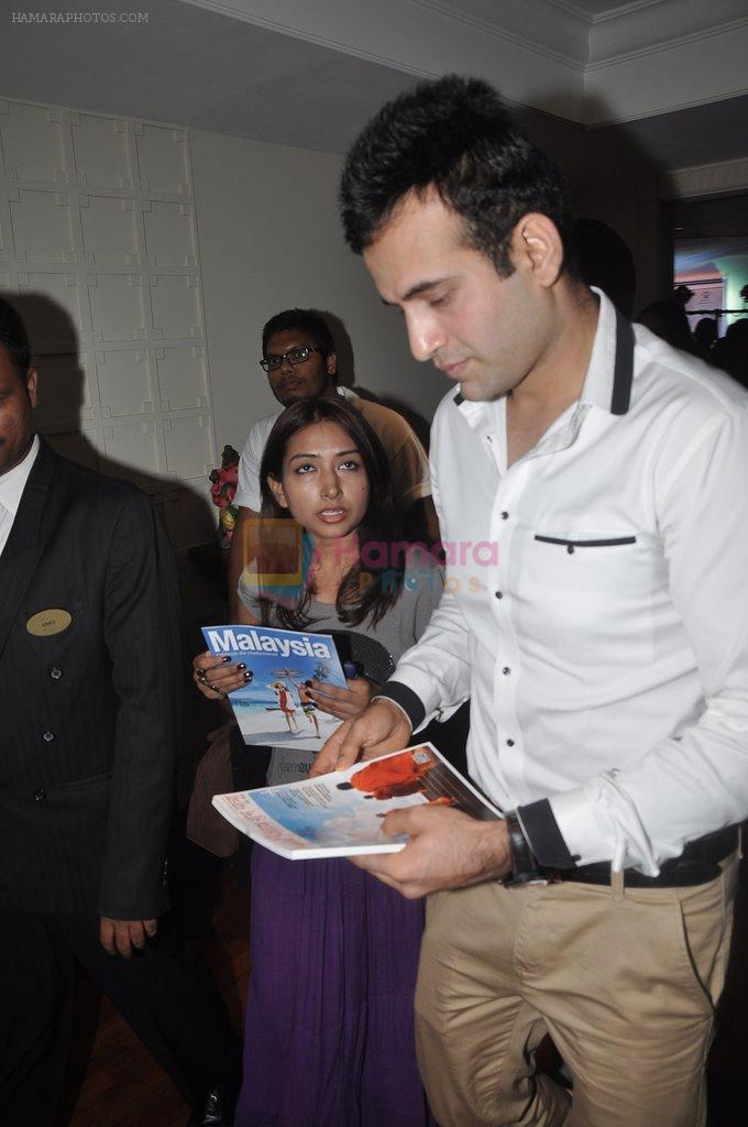 Irfan Pathan at Malaysian Palm oil launch in ITC on 27th June 2014