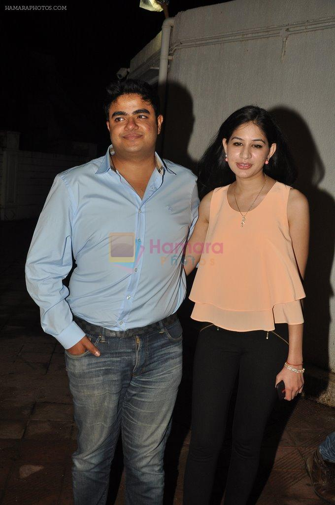 at Bhansali's party for Mary Kom completion in Bandra, Mumbai on 25th July 2014