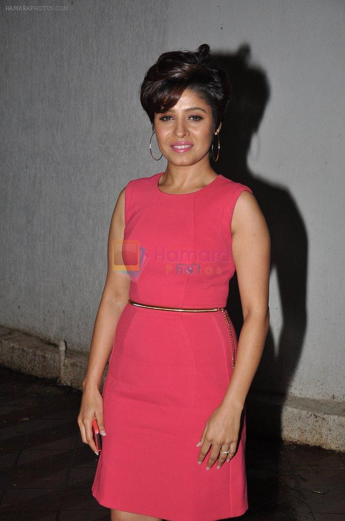 Sunidhi Chauhan at Bhansali's party for Mary Kom completion in Bandra, Mumbai on 25th July 2014