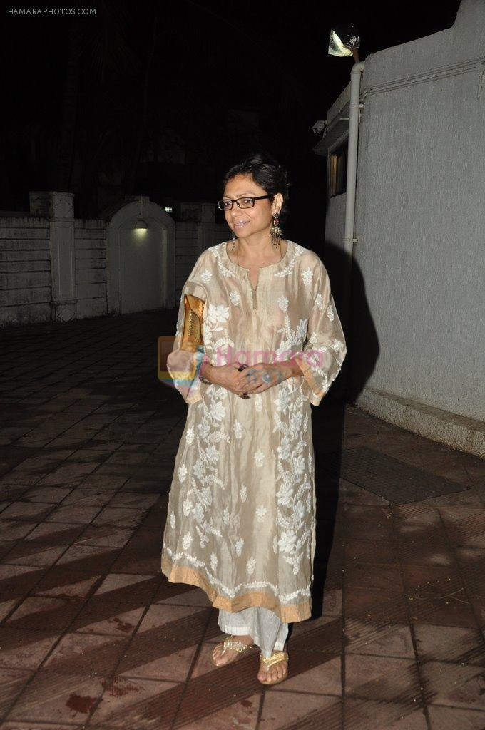 Bela Sehgal at Bhansali's party for Mary Kom completion in Bandra, Mumbai on 25th July 2014