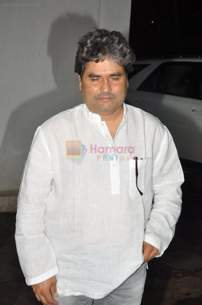 Vishal Bharadwaj at Bhansali's party for Mary Kom completion in Bandra, Mumbai on 25th July 2014