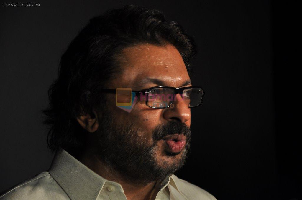 Sanjay Leela Bhansali at Bhansali's party for Mary Kom completion in Bandra, Mumbai on 25th July 2014