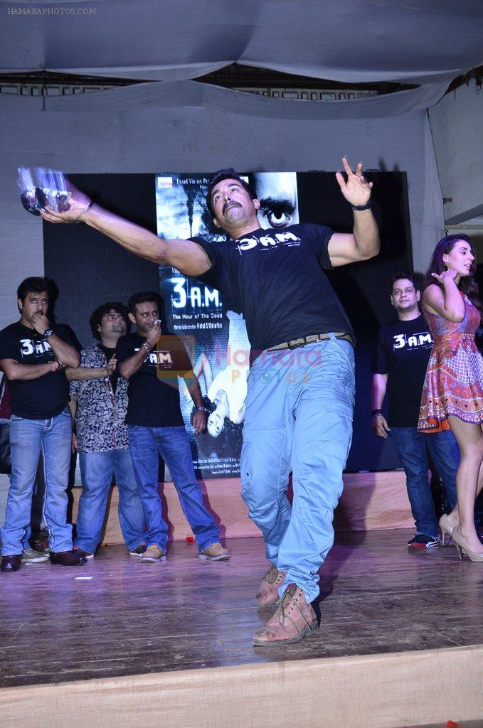 Ranvijay Singh at 3 AM trailor launch in Matunga on 8th Aug 2014