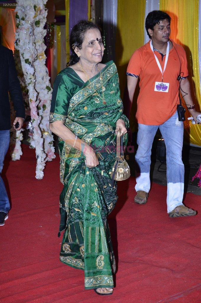 Usha Nadkarni at SAB Ke anokhe awards in Filmcity on 12th Aug 2014