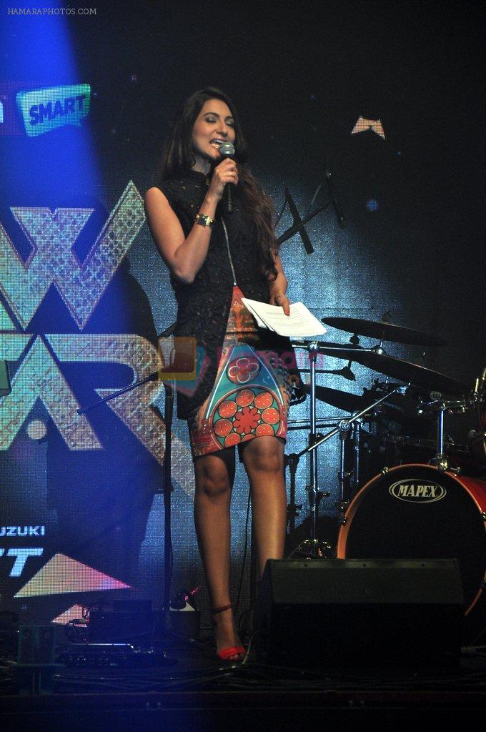 Gauhar Khan at Star Plus Raw launch in Hard Rock Cafe on 13th Aug 2014