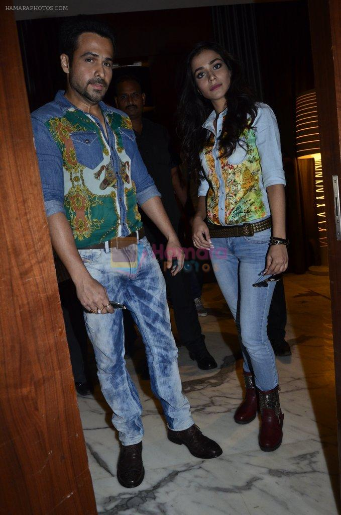 Emraan Hashmi, Humaima Malik at Raja Natwarlal club promotions in Enigma on 13th Aug 2014