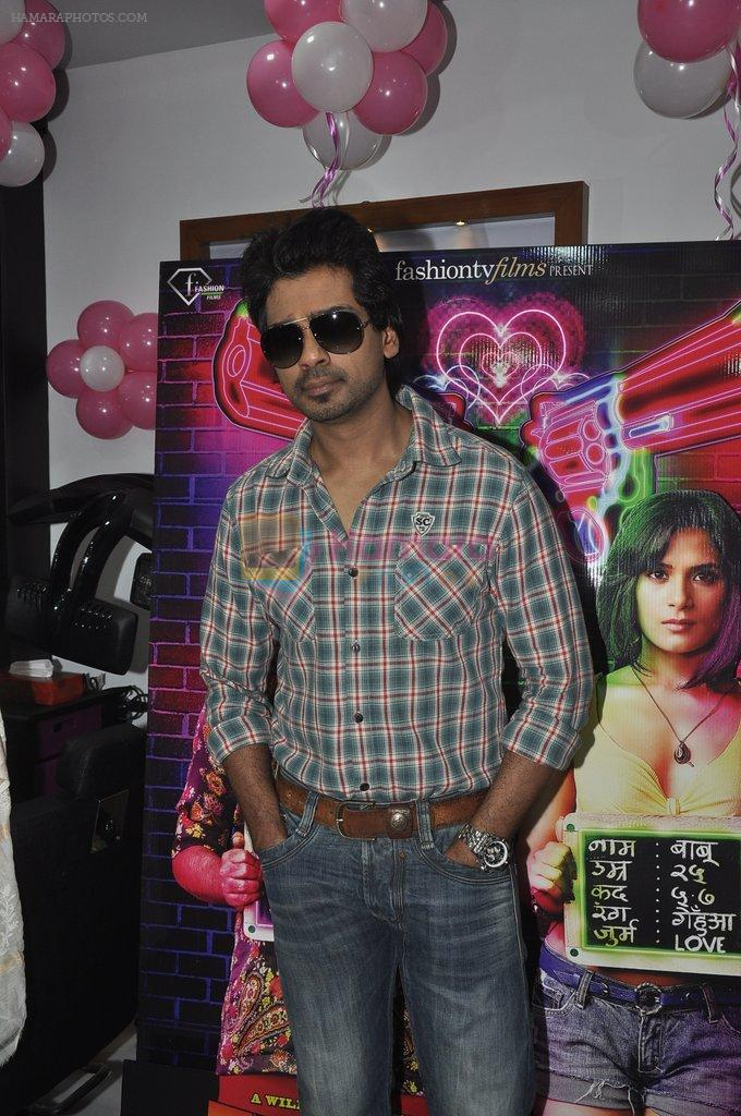Nikhil Dwivedi at Tamanchey film promotions in Malad, Mumbai on 15th Aug 2014