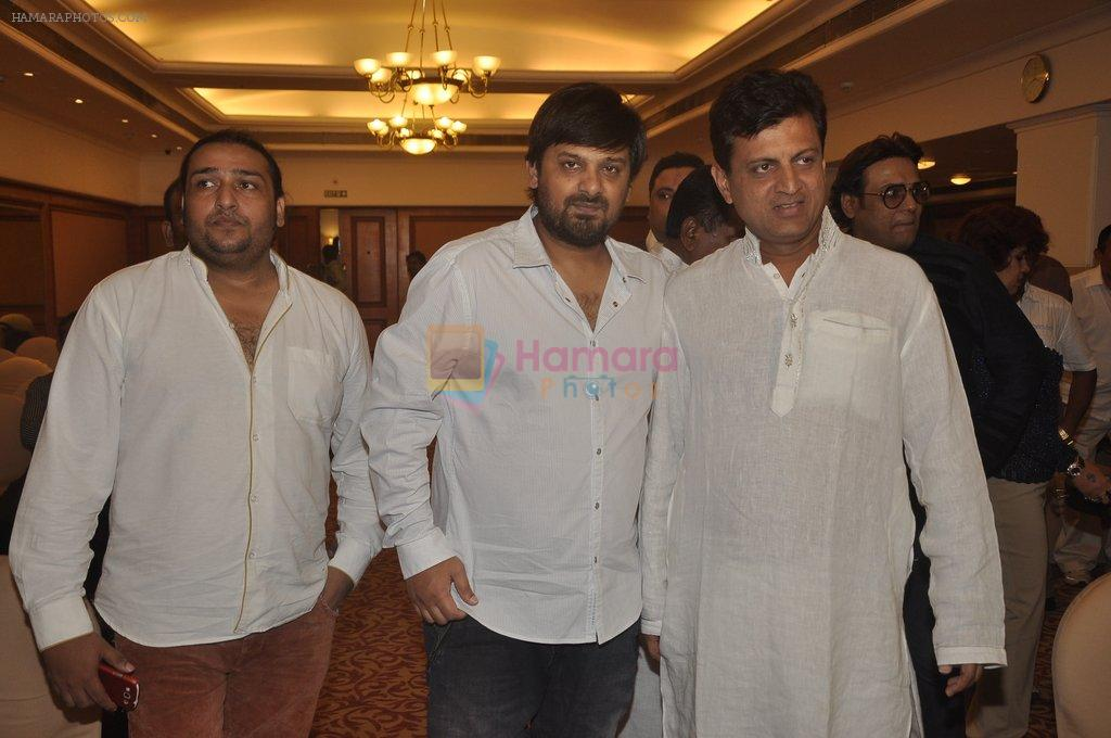 Wajid Ali at special Indian national anthem launch in Palm Grove on 15th Aug 2014