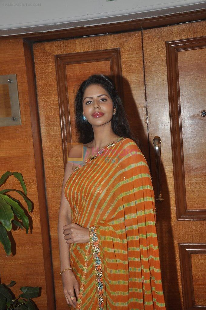 Bhairavi Goswami at special Indian national anthem launch in Palm Grove on 15th Aug 2014
