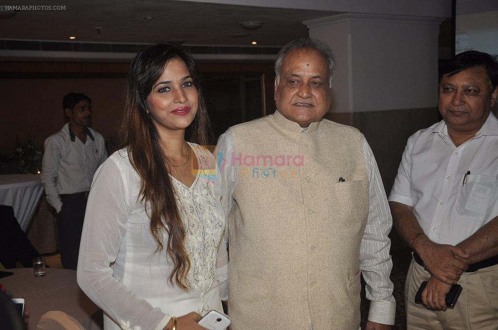Tanisha Singh at special Indian national anthem launch in Palm Grove on 15th Aug 2014