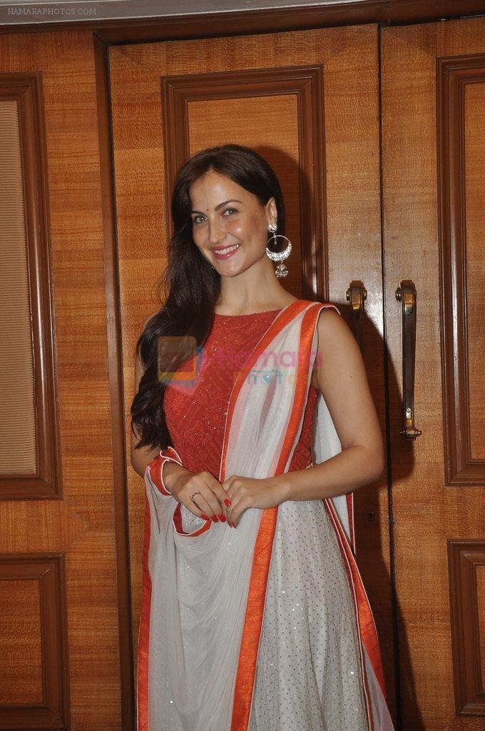 Elli Avram at special Indian national anthem launch in Palm Grove on 15th Aug 2014