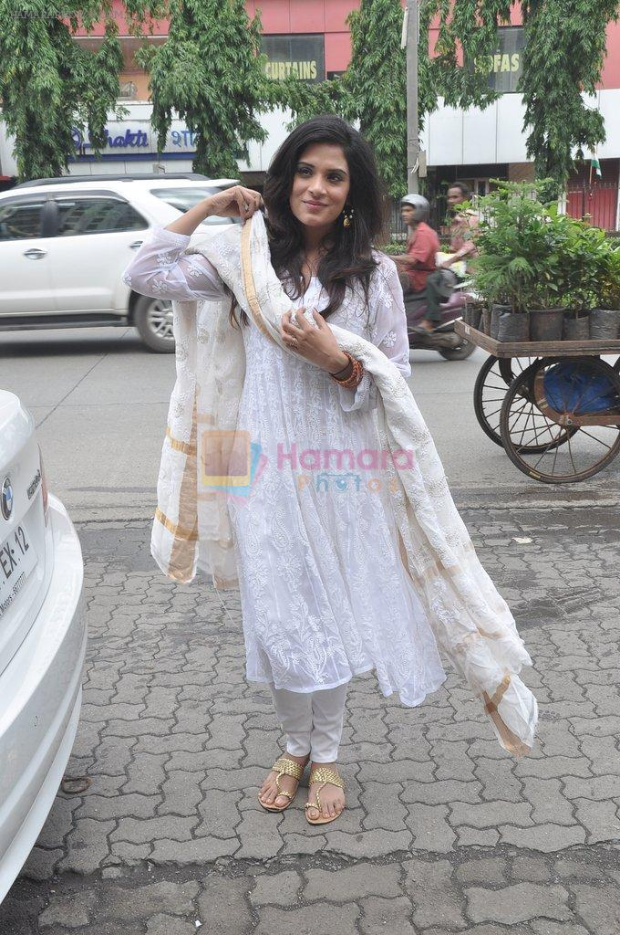 Richa Chadda at Tamanchey film promotions in Malad, Mumbai on 15th Aug 2014