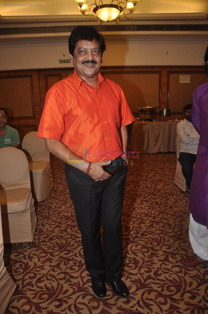 Udit Narayan at special Indian national anthem launch in Palm Grove on 15th Aug 2014
