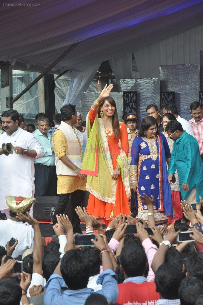 Bipasha Basu at Ram Kadam Dahi Handi in Mumbai on 18th Aug 2014