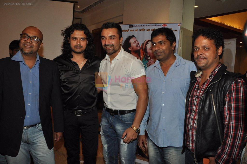 Raja Hasan, Ajaz Khan at Marudhar Album Launch in Mumbai on 21st Aug 2014