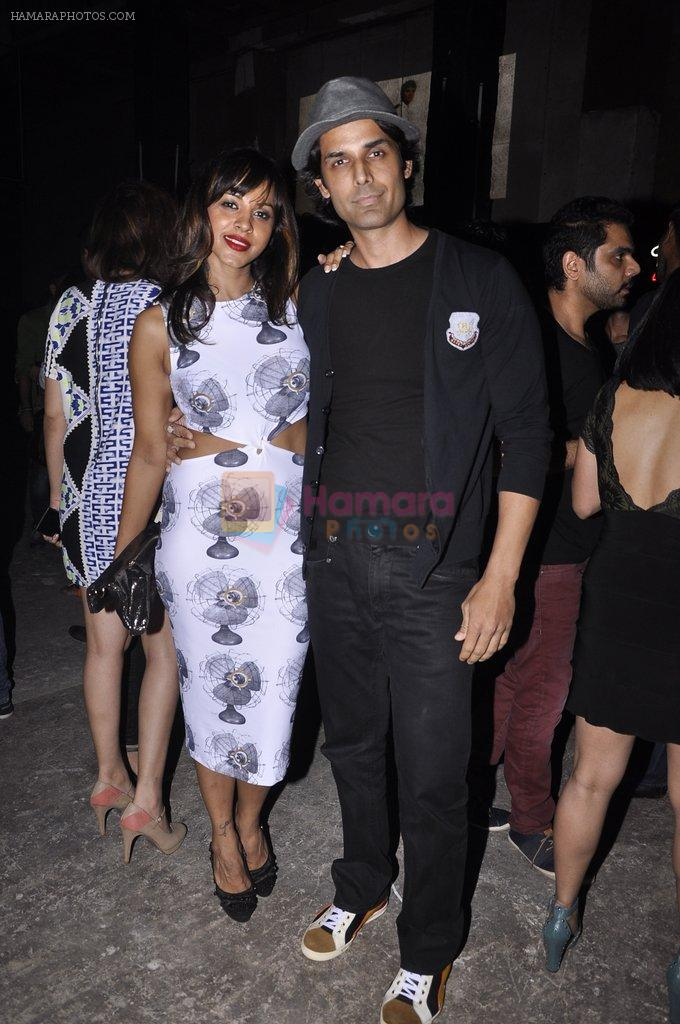Ameet M. Gaurr, Manasi Scott at Koovs Nikhil Chinnapa bash in Famous Studio on 21st Aug 2014