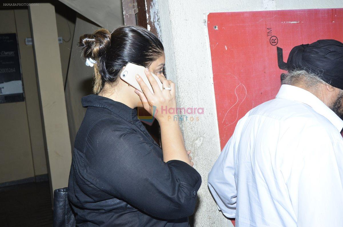 Nagma snapped at PVR on 25th Aug 2014