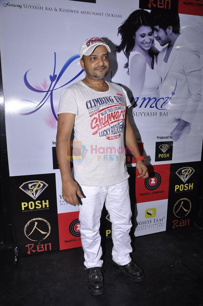 Sajid Ali at Khushnuma album launch in Mumbai on 25th Aug 2014
