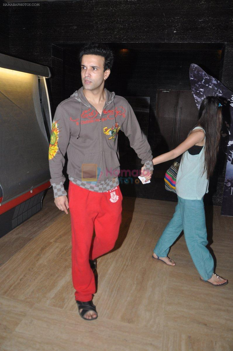 Aamir Ali, Sanjeeda Sheikh snapped at PVR, Mumbai on 27th Aug 2014
