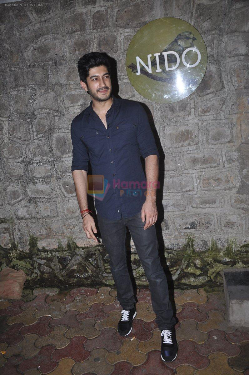Mohit Marwah snapped at Nido on 12th Sept 2014