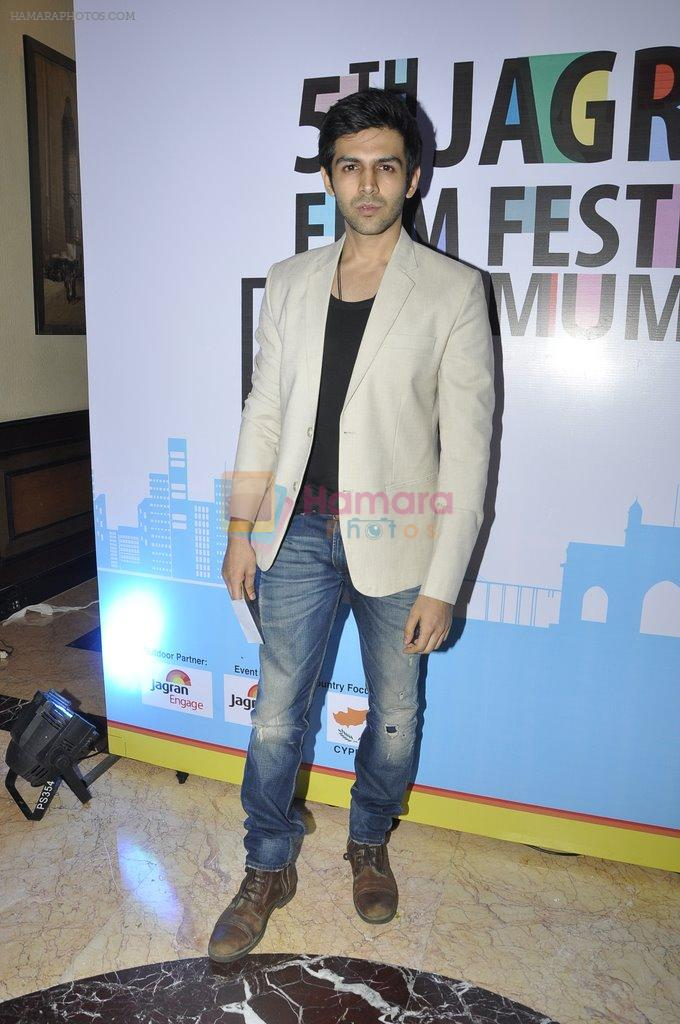 at Jagran Film fest in Taj Lands End on 14th Sept 2014