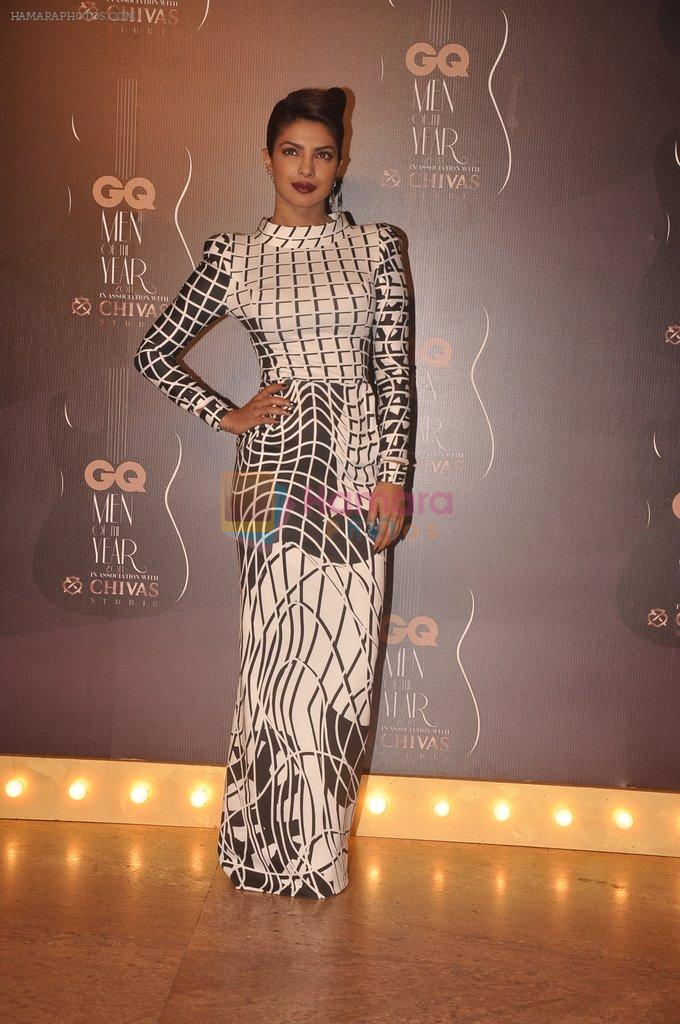 Priyanka Chopra at GQ Men of the Year Awards 2014 in Mumbai on 28th Sept 2014