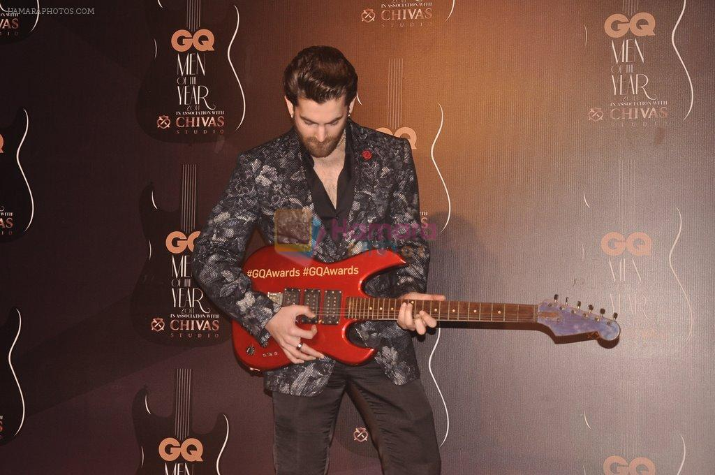 Neil Mukesh at GQ Men of the Year Awards 2014 in Mumbai on 28th Sept 2014