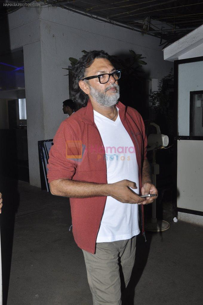 Rakesh Mehra at Haider screening in Sunny Super Sound on 29th Sept 2014