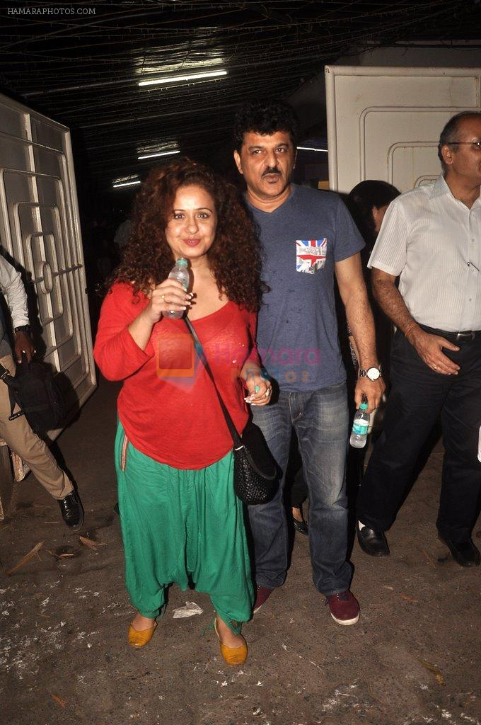 Vandana Sajnani, Rajesh Khattar at Haider screening in Sunny Super Sound on 29th Sept 2014