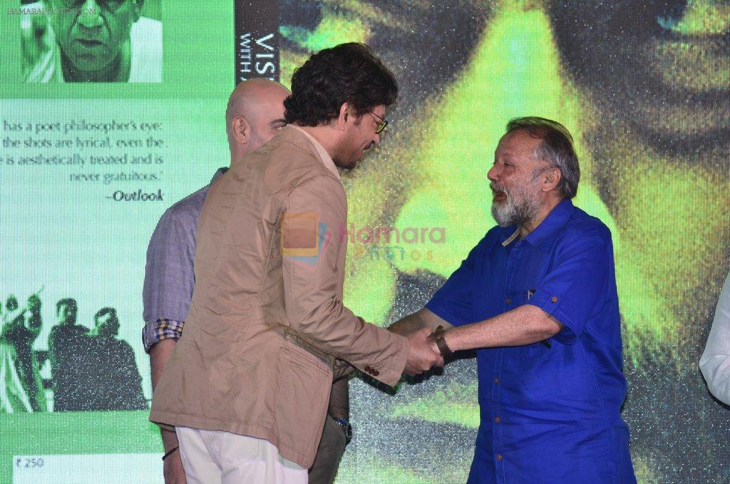 Pankaj Kapur, Shahid Kapur at Haider book launch in Taj Lands End on 30th Sept 2014