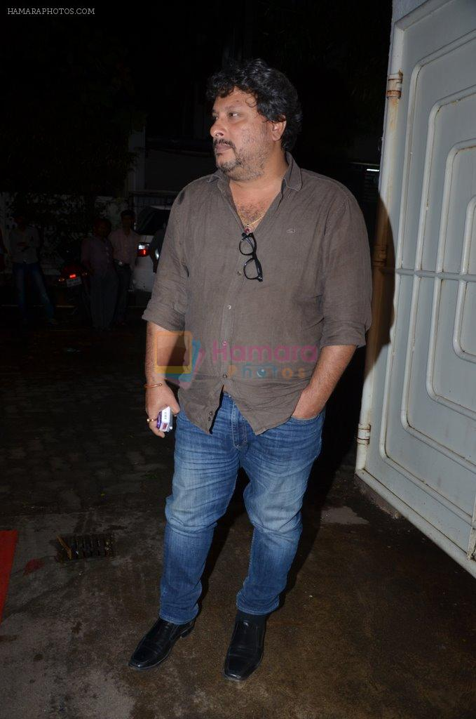 Tigmanshu Dhulia at Haider screening in Sunny Super Sound on 30th Sept 2014