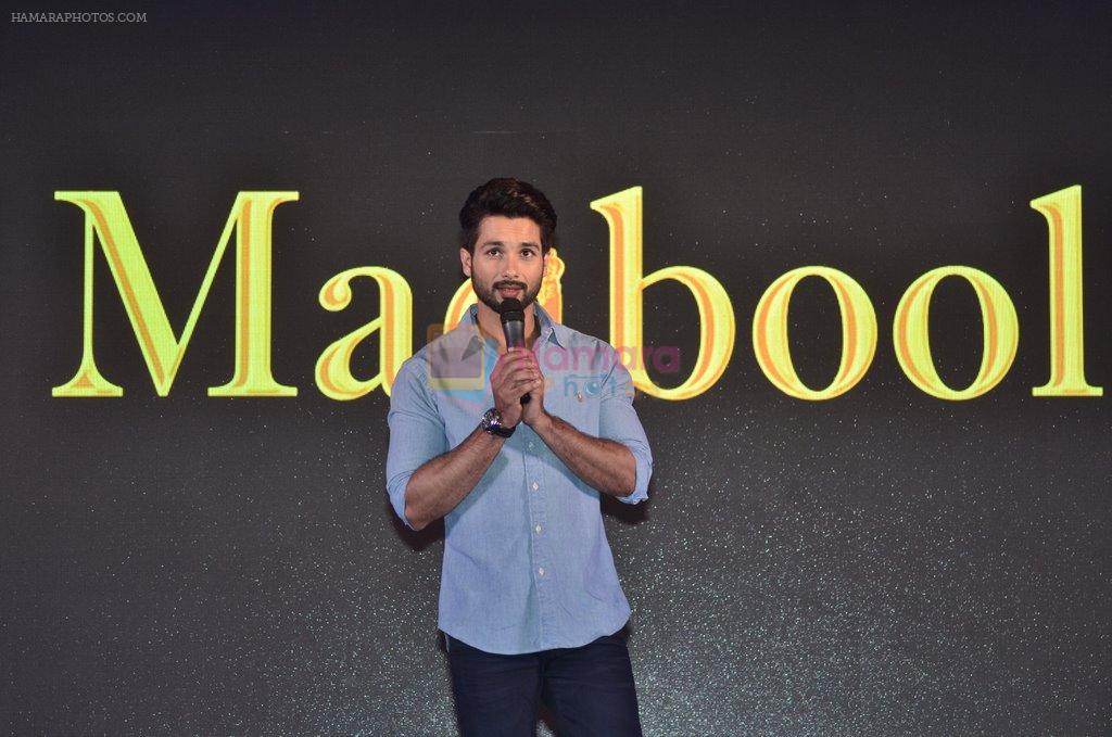Shahid Kapoor at Haider book launch in Taj Lands End on 30th Sept 2014