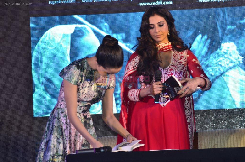 Tabu, Shraddha Kapoor at Haider book launch in Taj Lands End on 30th Sept 2014