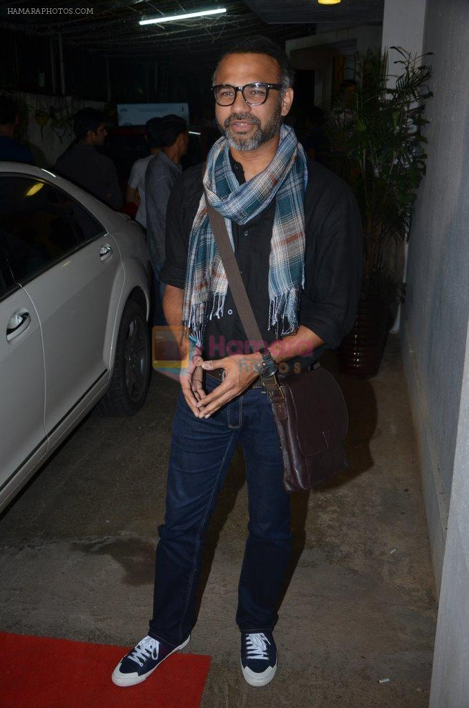 Abhinay Deo at Haider screening in Sunny Super Sound on 30th Sept 2014