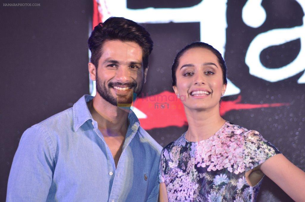 Shraddha Kapoor, Shahid Kapur at Haider book launch in Taj Lands End on 30th Sept 2014