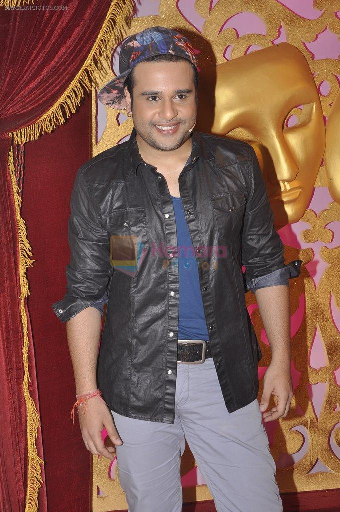 Krushna Abhishek at Life Ok Comedy Classes launch in Mumbai on 30th Sept 2014