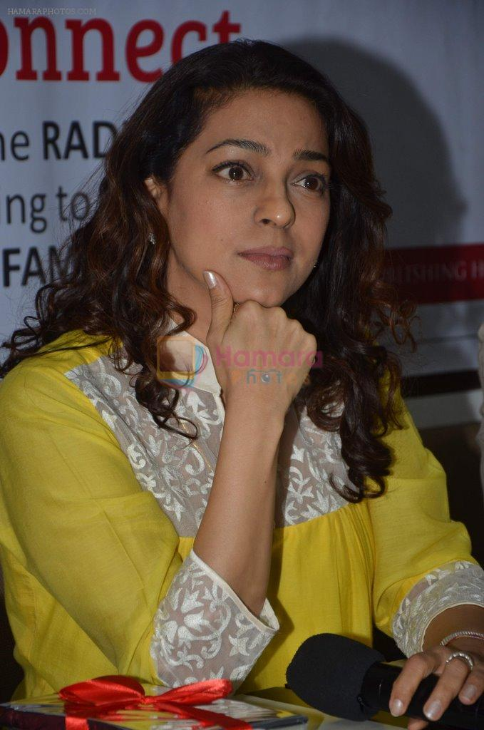 Juhi Chawla at Dr Devra Davis book launch in press club on 2nd Oct 2014