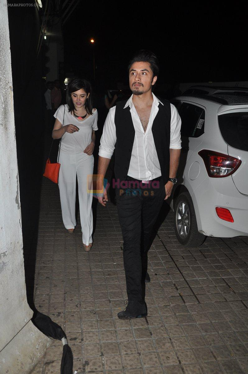 Ali Zafar at Bang Bang special screening hosted by Hrithik Roshan on 1st Oct 2014