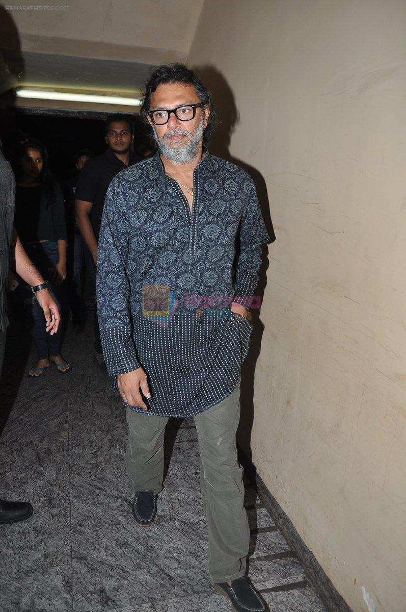Rakesh Mehra at Bang Bang special screening hosted by Hrithik Roshan on 1st Oct 2014