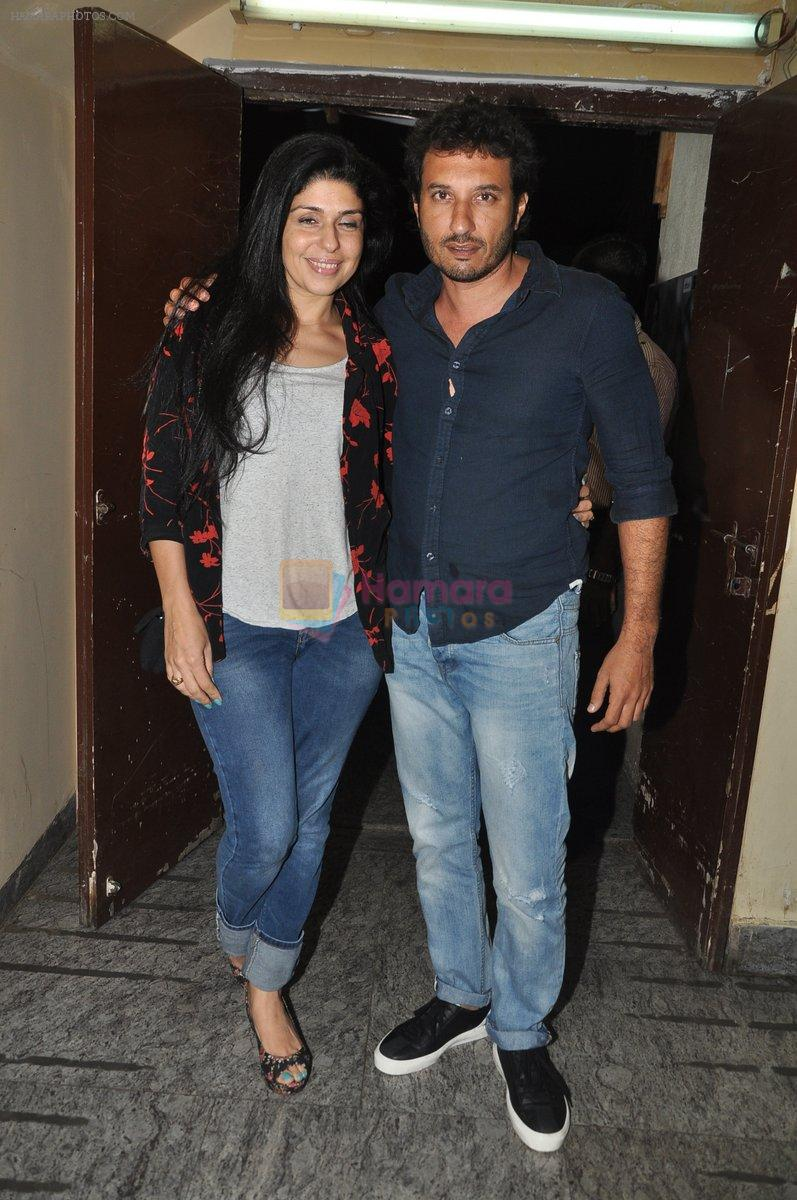 Homi at Bang Bang special screening hosted by Hrithik Roshan on 1st Oct 2014