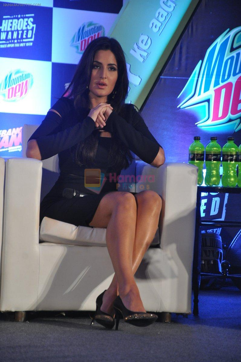 Katrina Kaif at Bang Bang Mountain Dew event on 1st Oct 2014