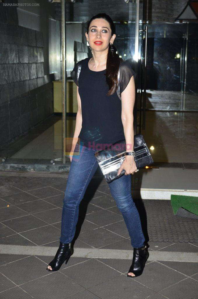 Karisma Kapoor at Sanjay Kapoor's residence on 8th Oct 2014