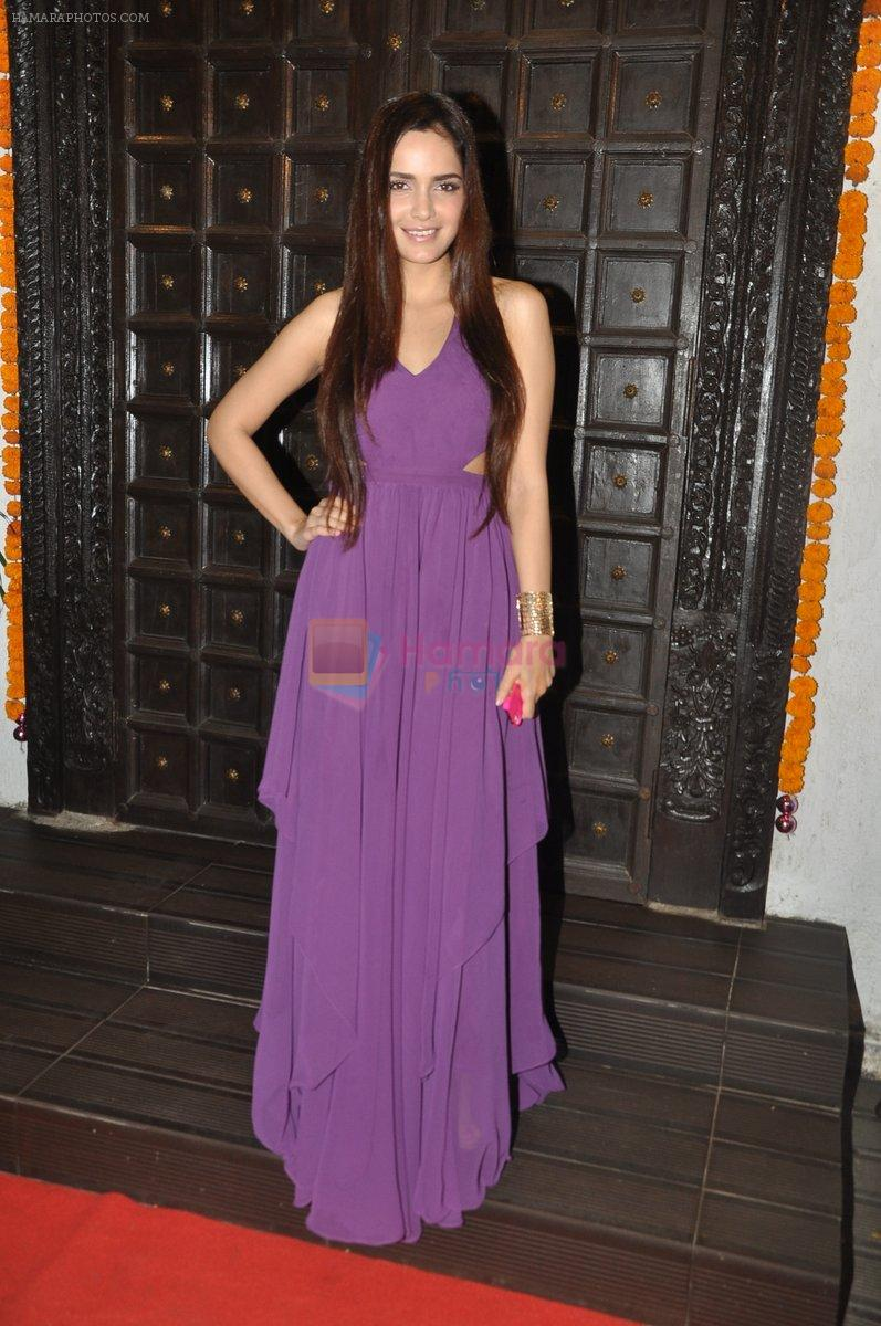 Shazahn Padamsee at Soniya VEMB preview in Dvar, Mumbai on 9th Oct 2014