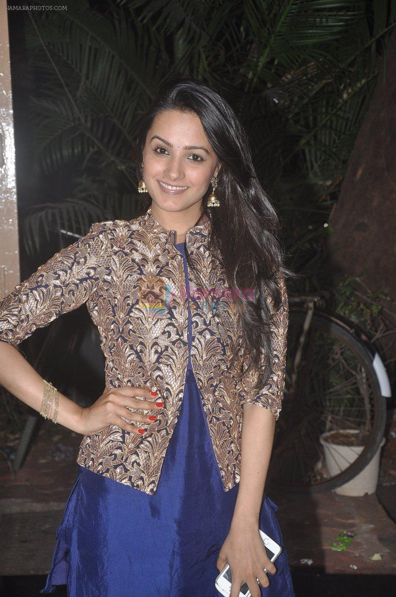 Anita Hassanandani at Ekta Kapoor's Diwali Bash in Mumbai on 22nd Oct 2014