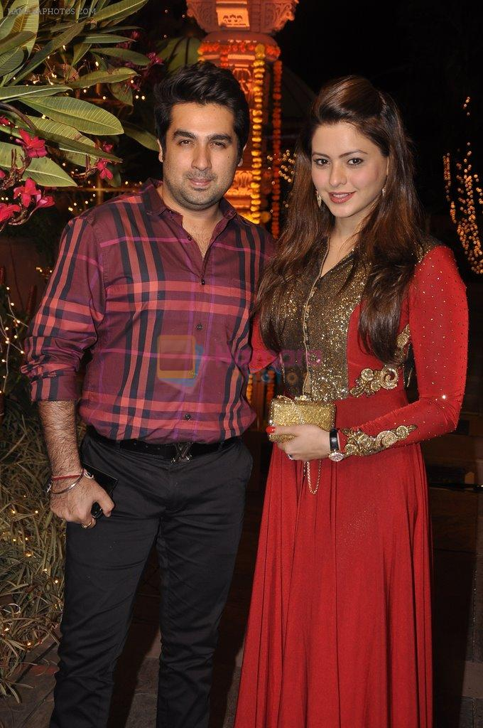 Aamna Sharif at Sachiin Joshi's Diwali bash in Mumbai on 24th Oct 2014